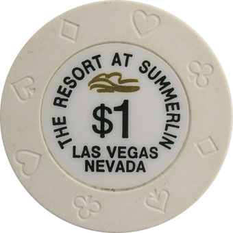 Resort At Summerlin $1 Las Vegas Casino Chip