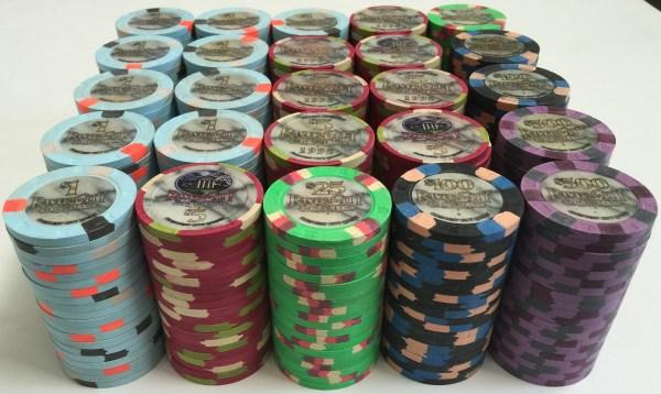 River City Casino Paulson Poker Chips