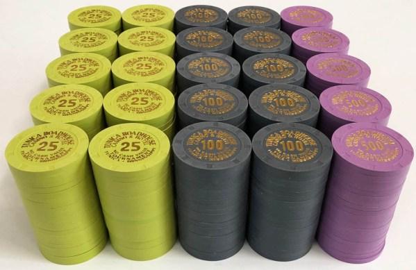 Tunica Roadhouse Casino Tournament Chips