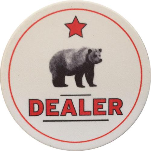 Rounders Casino Poker Dealer Button