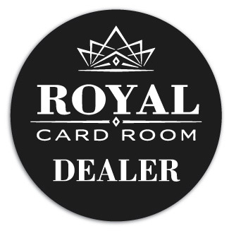 Royal Dealer Button