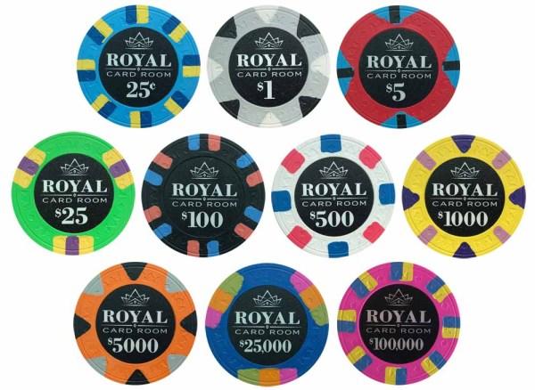 Royal Poker Chip Set