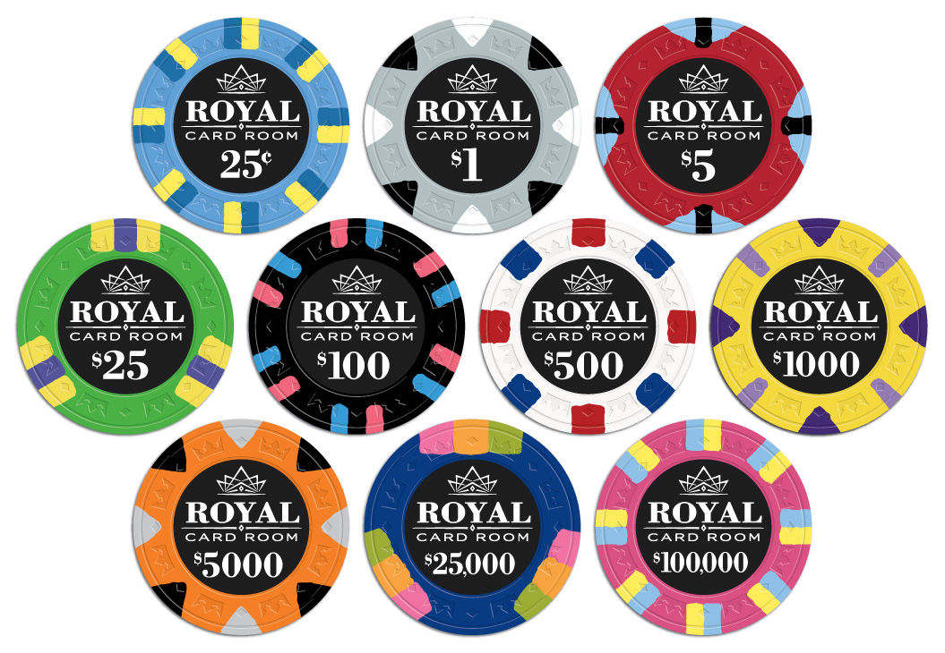 poker chips labels