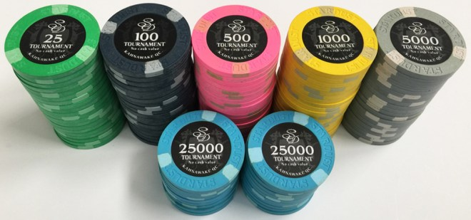 Stardust Poker Chip Set