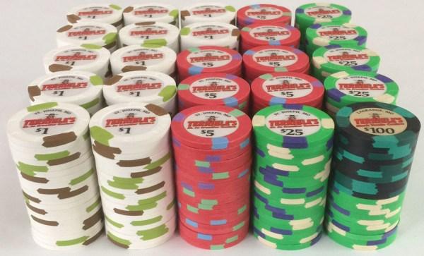 Terrible's Casino Paulson Poker Chips