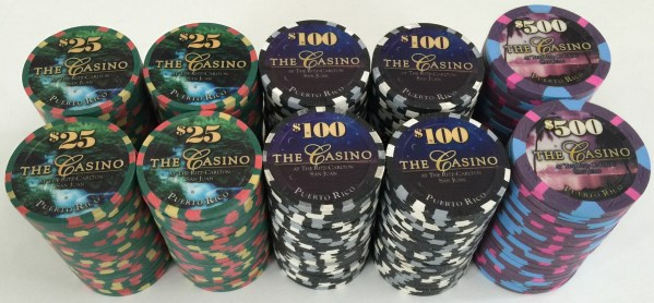 Ritz Carlton The Casino Paulson Poker Chips
