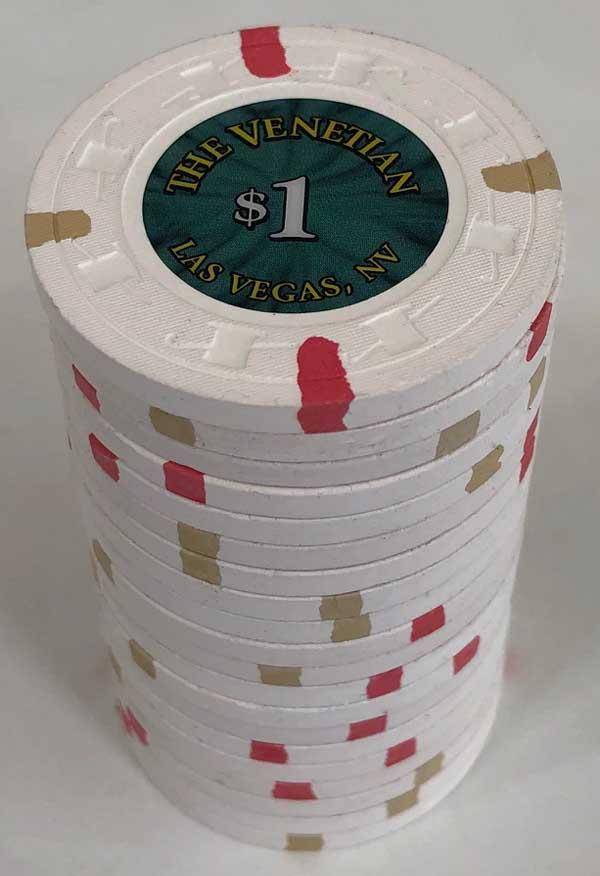 Venetian Casino Paulson Poker Chips