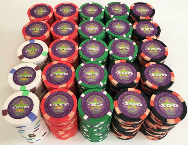 Western Casino Las Vegas Paulson Poker Chip Set