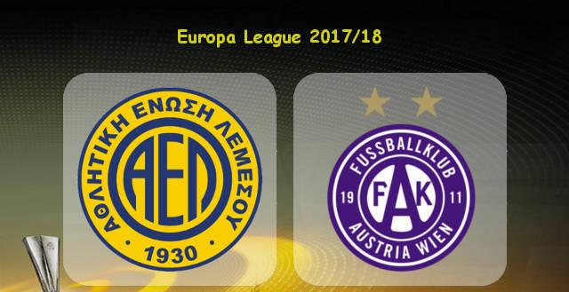AEL-Limassol-vs-Austria-Wien-Europa-League-Qualification-2017-18