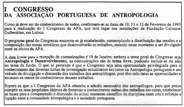 I_congresso_APA_boletim_APA_10-1992