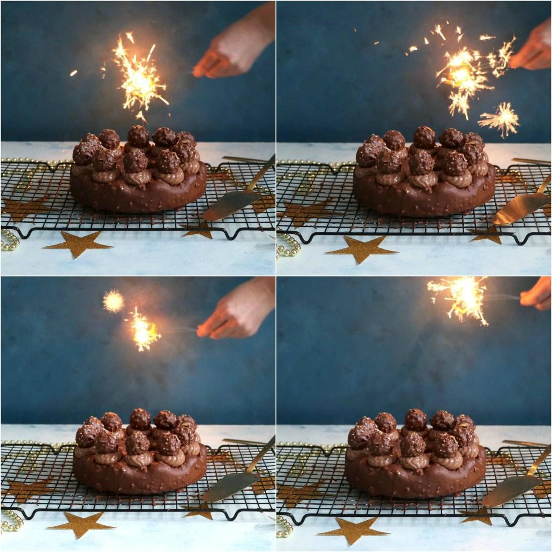 Ferrero Rocher Celebration Cake