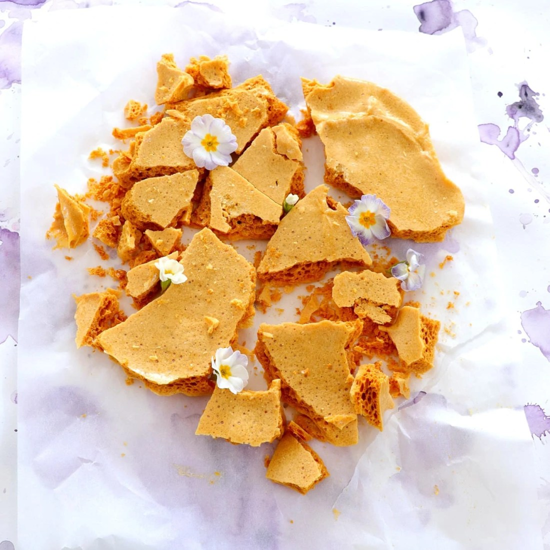 Crispy Honeycomb Shards