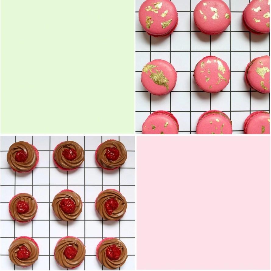 Earl Grey Tea and Raspberry Macarons