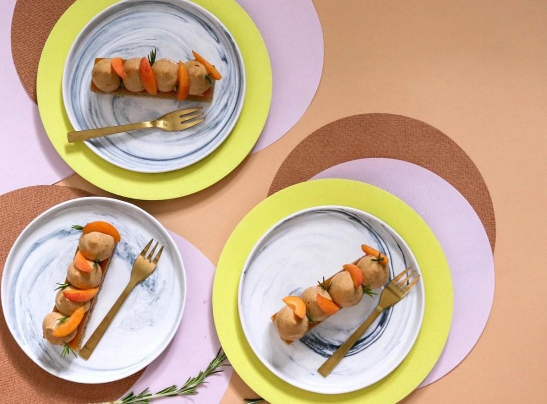 Apricot, Rosemary and Hazelnut Bars