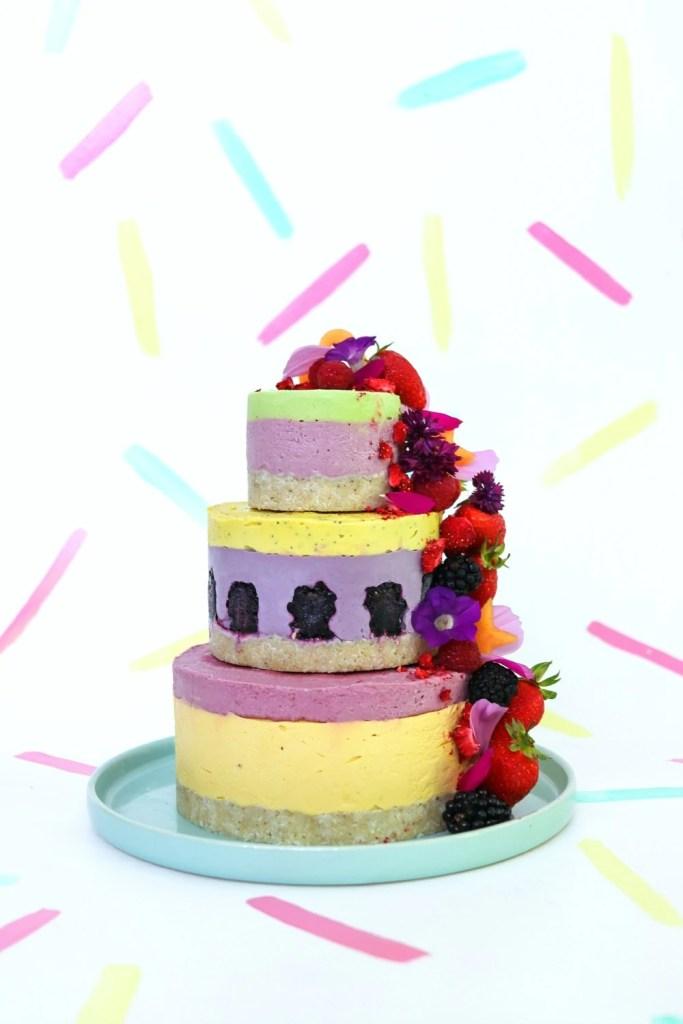 Vegan Raw Celebration Cake
