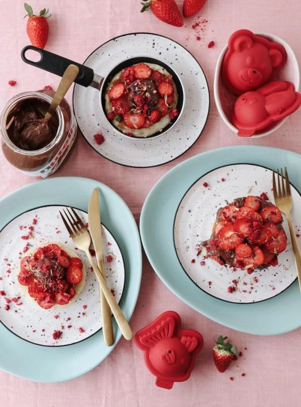Concours Nutella Tefal Recette De Fluffy Pancakes A Parisian Journey