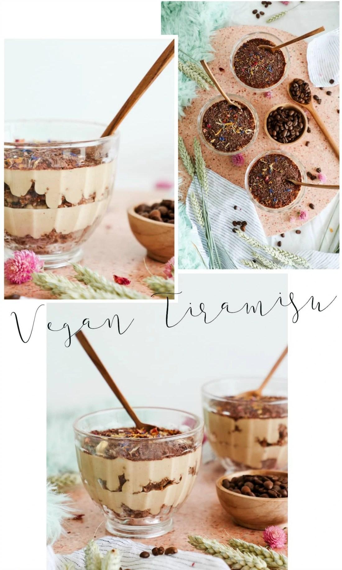 Tiramisu Vegan sans sucre