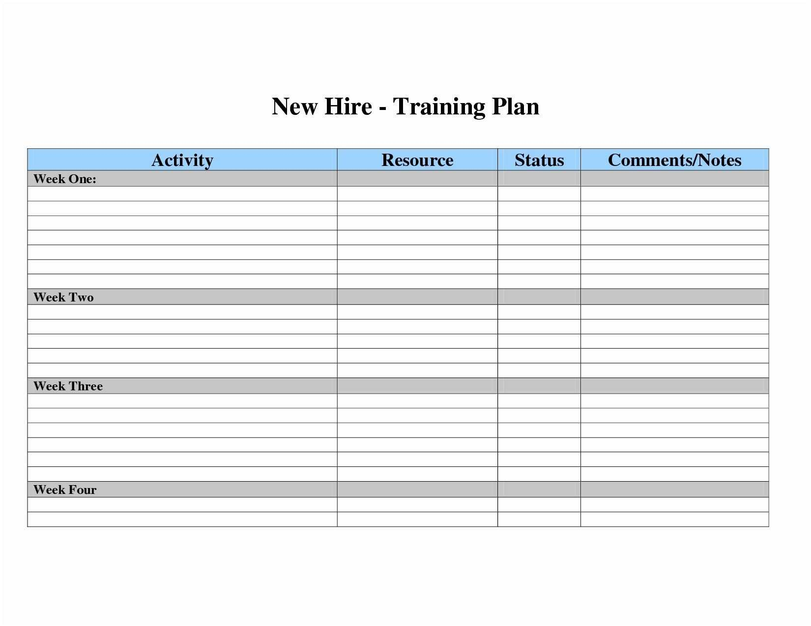 Project Template Excel Free