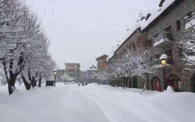 Gran nevada en Benasque