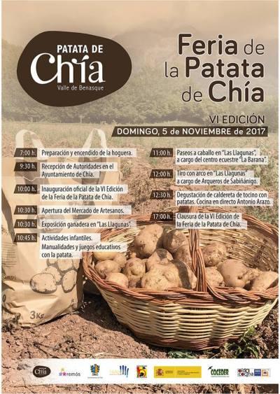 Nueva edición de la Feria de la patata de Chia
