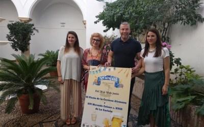 Un mercado Colono y una fiesta de la cerveza