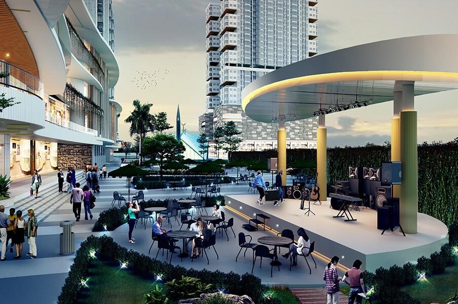 Fasilitas - Apartemen, LRT City Ciracas - Plaza