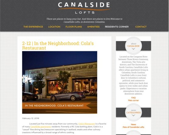 rsz_screencapture canalsidecolumbia com category news 1455819498779 - Apartment Website Design
