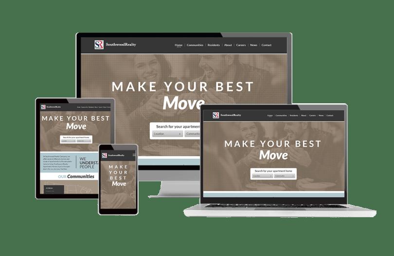 Responsive Design Website Property Management