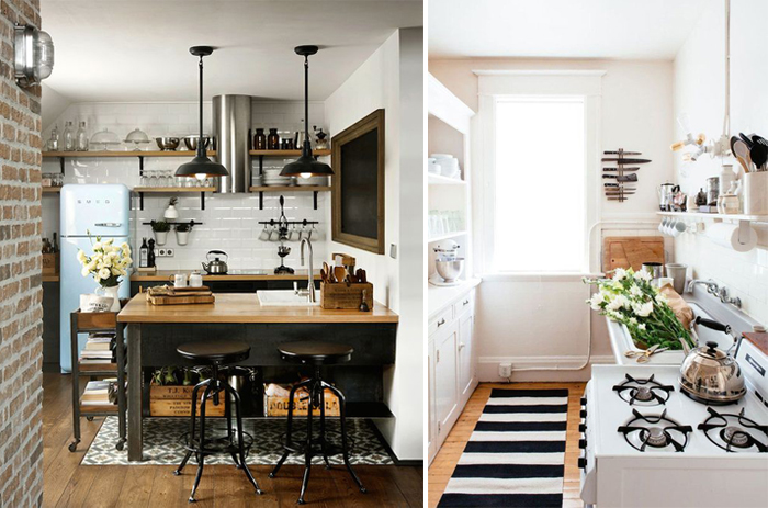 SMALL KITCHEN INSPIRATION on Small Space:fn118Lomvuk= Small Kitchen Ideas  id=50013