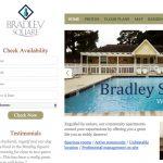Blanco apartment website design