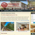 Classic apartment website design