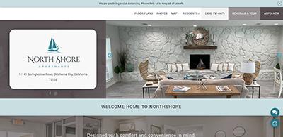 Maverick apartment website design