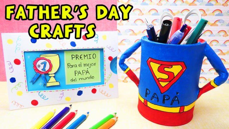 Daddys day crafts