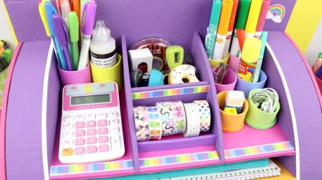 Desktop Organizer from cardboard