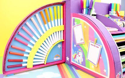diy unicorn organizer