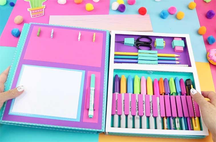 handmade folder organizer