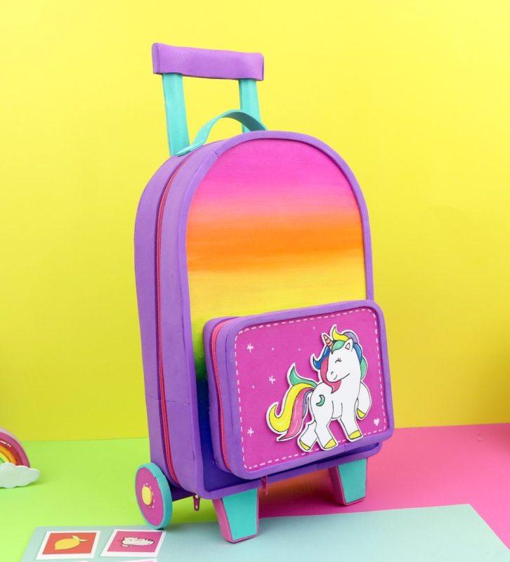 unicorn suitcase