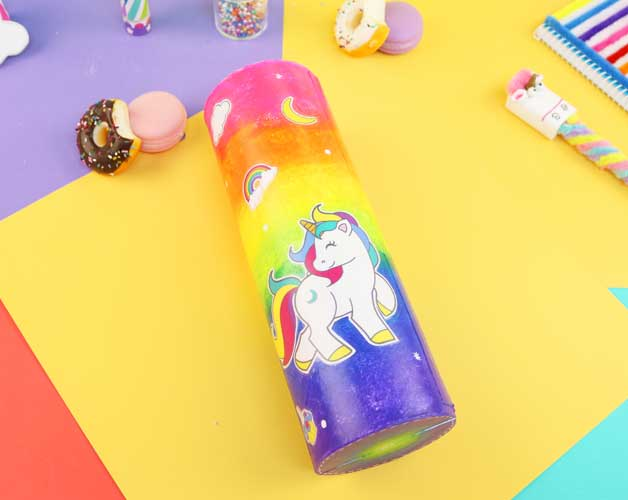 diy unicorn school supplies