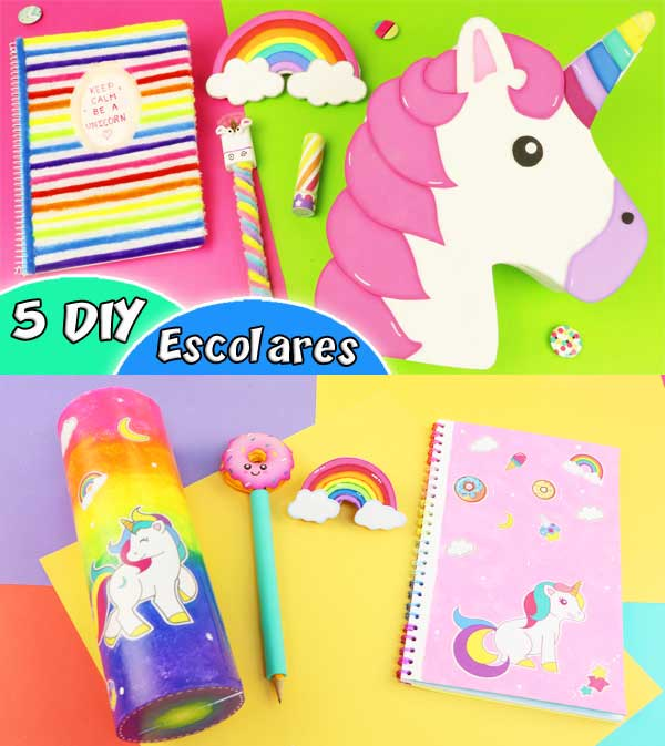 school supplies unicorn