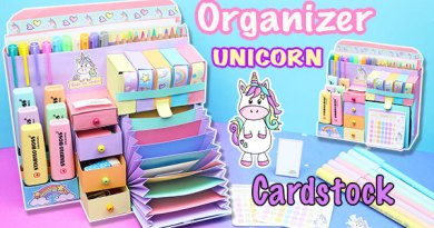 Dony Unicorn Desktop Organizer of Cardstock – Dony Unicorn Collection