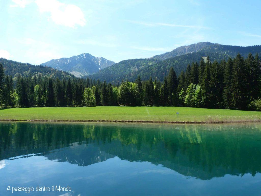 riflessi lago bianco carinzia