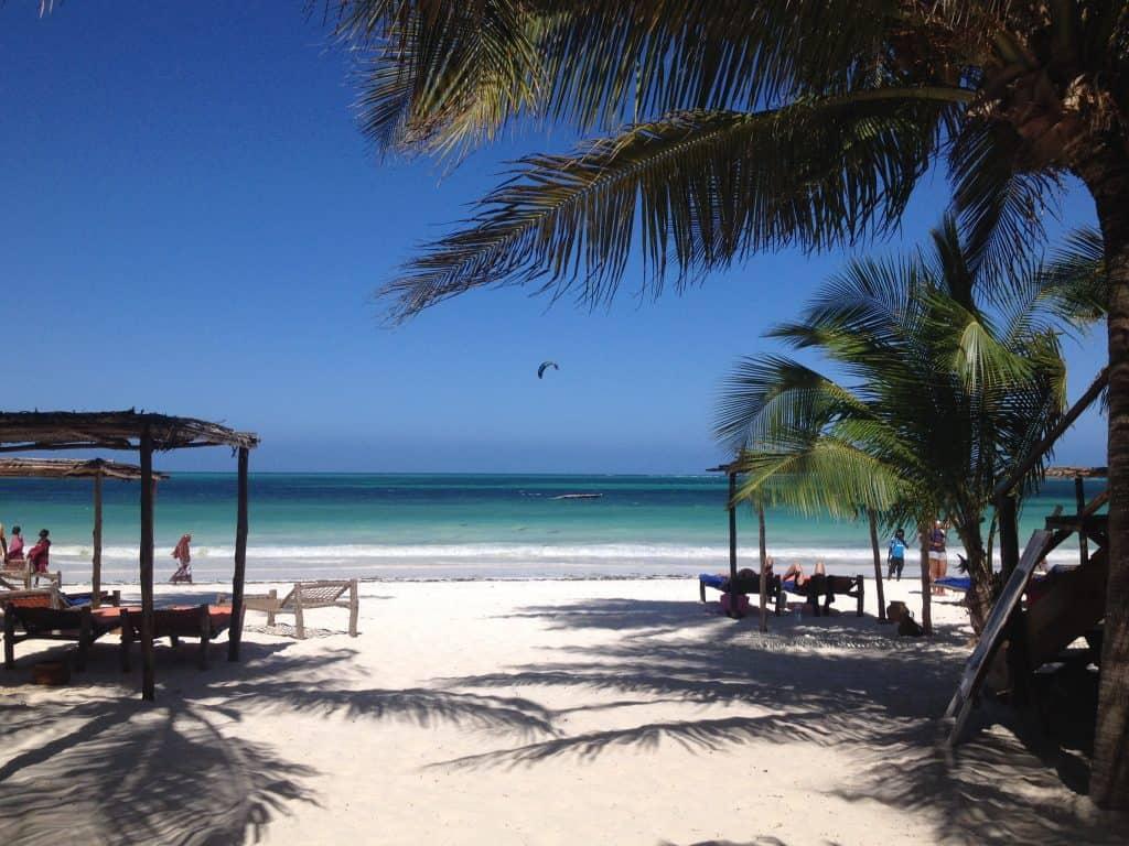 Vista dal beach bar