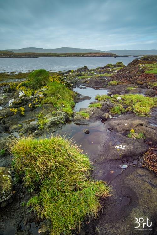 dunvegan beach, scozia