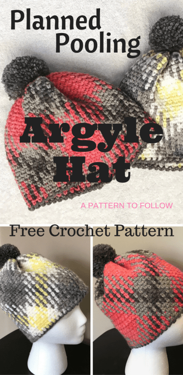 This Planned Pooling technique looks like so much fun.... Wouldn't this hat look great on the ski slopes? Fun free crochet hat pattern