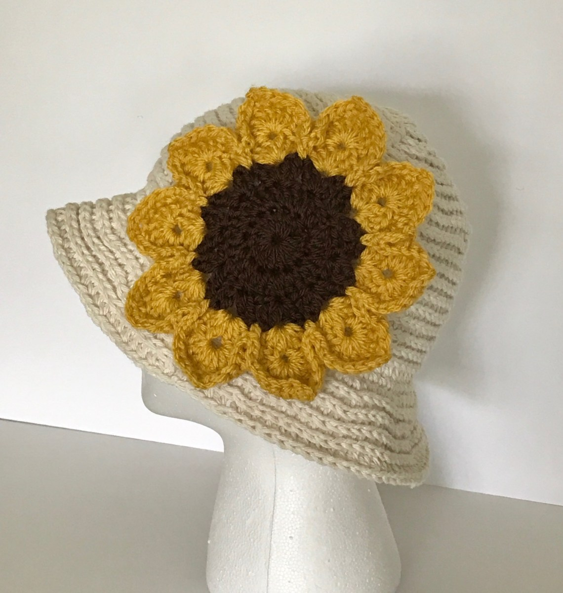 Fabulous End of Summer Crochet Sun Hat