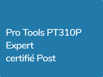 Formation Pro Tools PT301P Expert Post Production