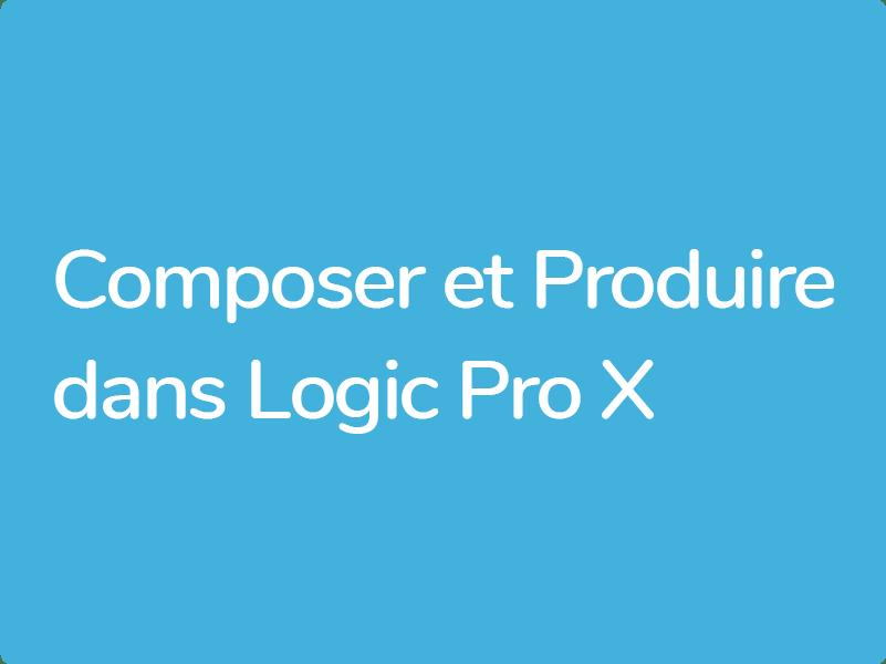 Formations Logic Pro X