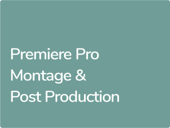 Formation Premiere Pro Montage et Post production Premiere Pro CC