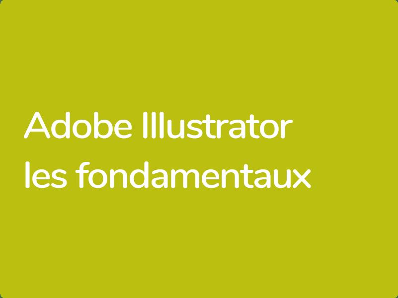 Formation remise à niveau Illustrator CC