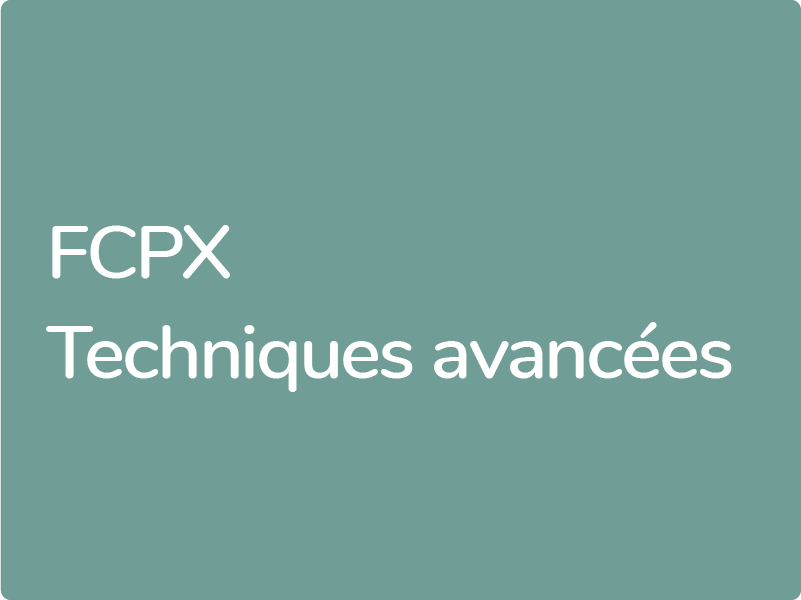 Formation Final Cut Pro X éligible au compte personnel de formation